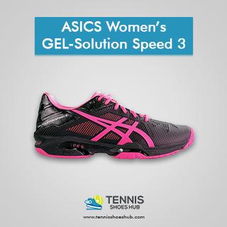 ASICS Women's GEL-Solution Speed 3 Tennis Shoes