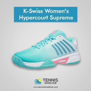 K-Swiss Women's Hypercourt Supreme Tennis Shoes