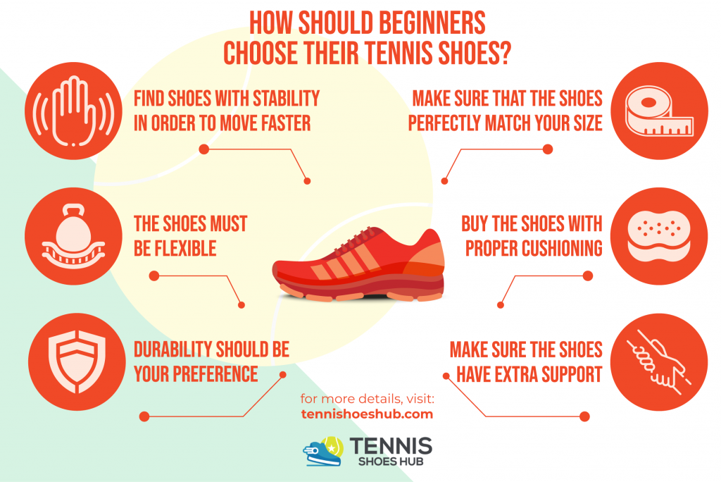 best tennis shoes for beginners