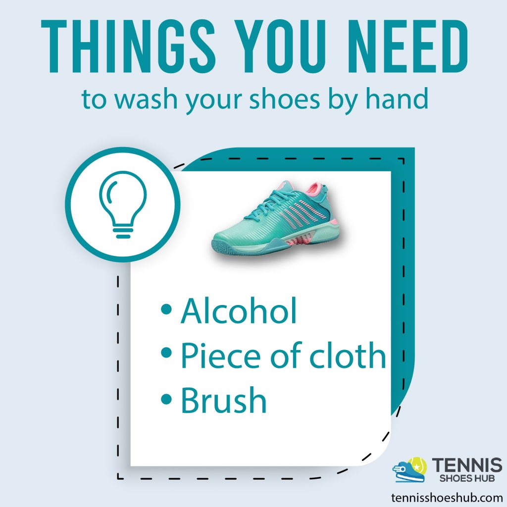 Things you need to wash your shoes by hand