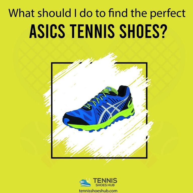 best asics tennis shoes