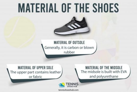 material of the shoes