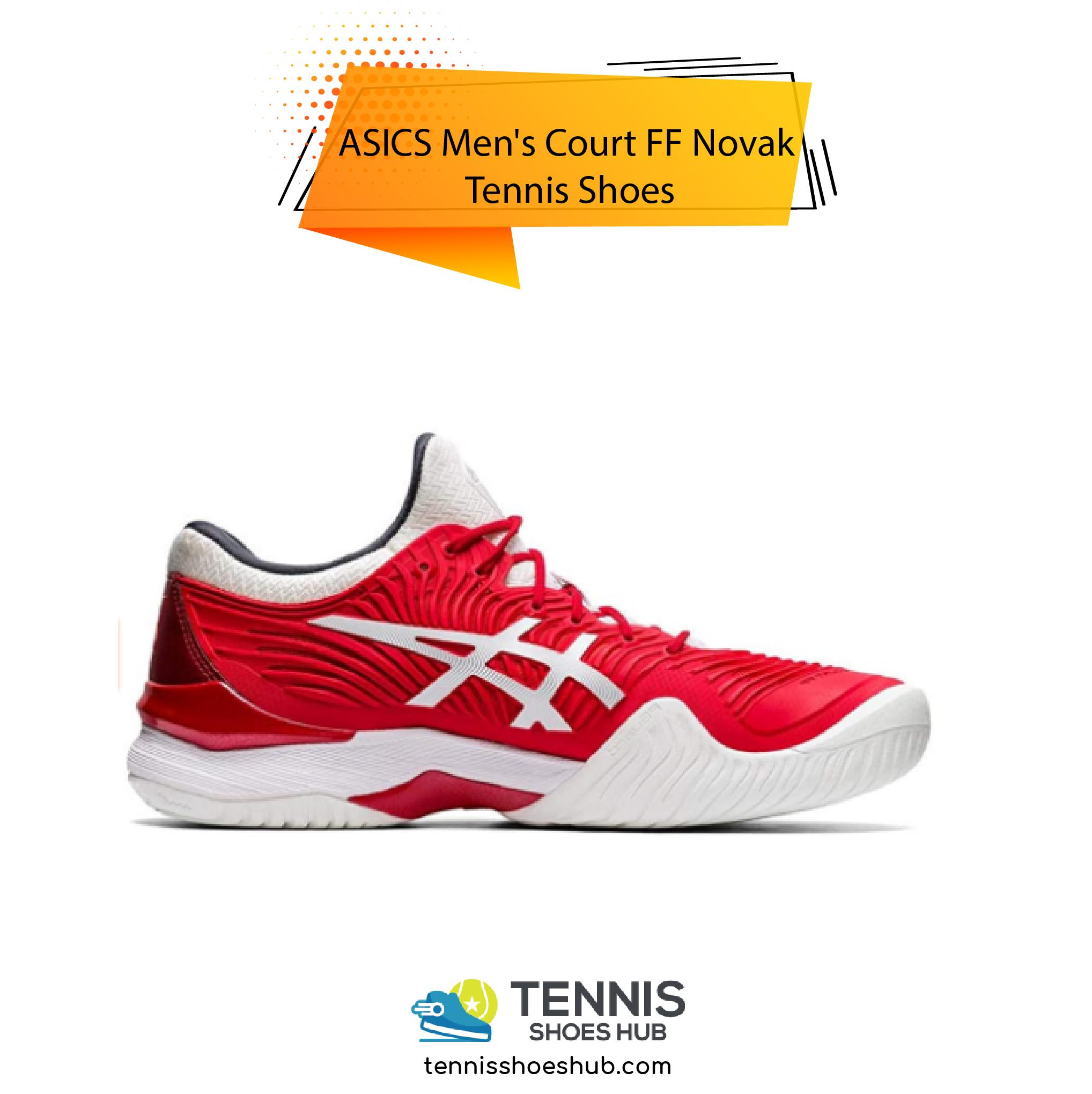 ASICS Mens Court FF Novak Tennis Shoes 01