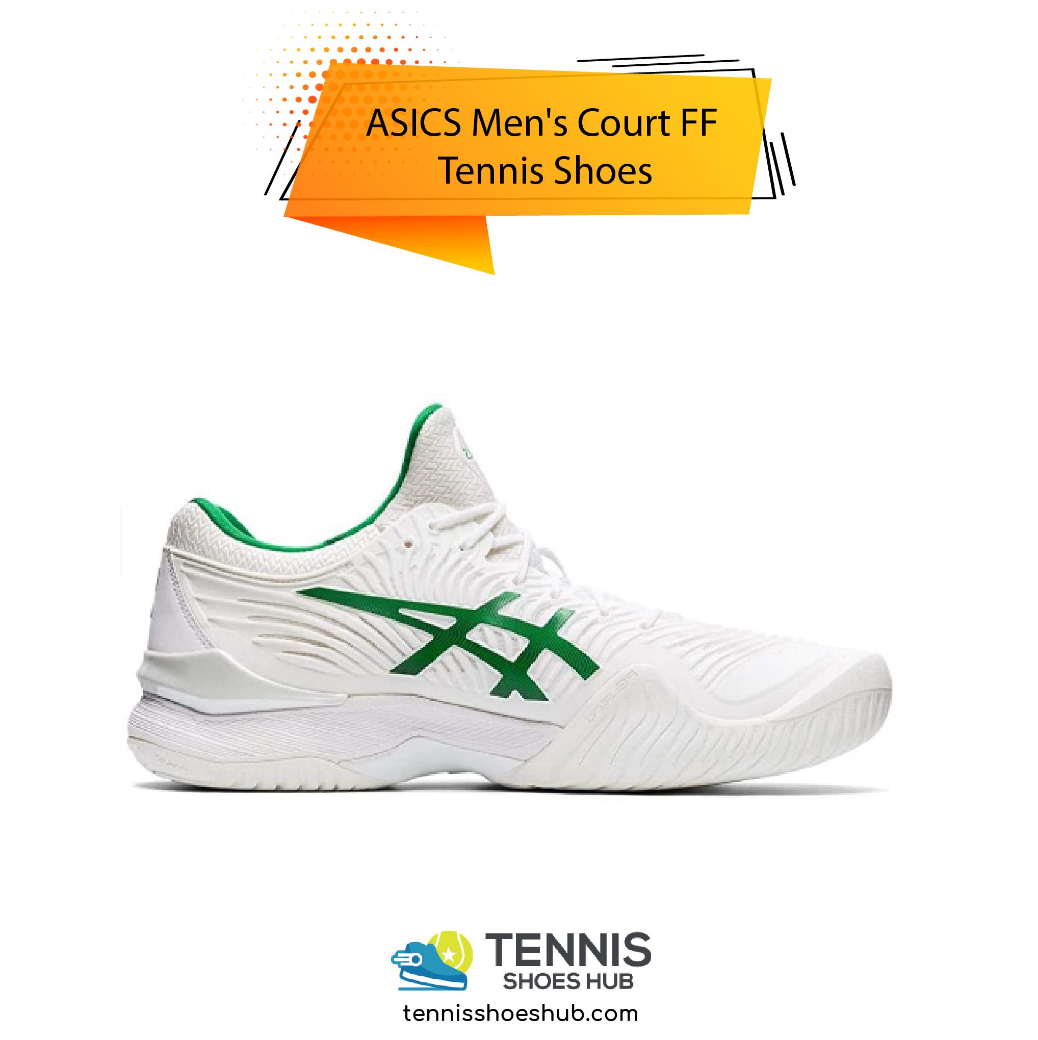 ASICS Mens Court FF Tennis Shoes 01