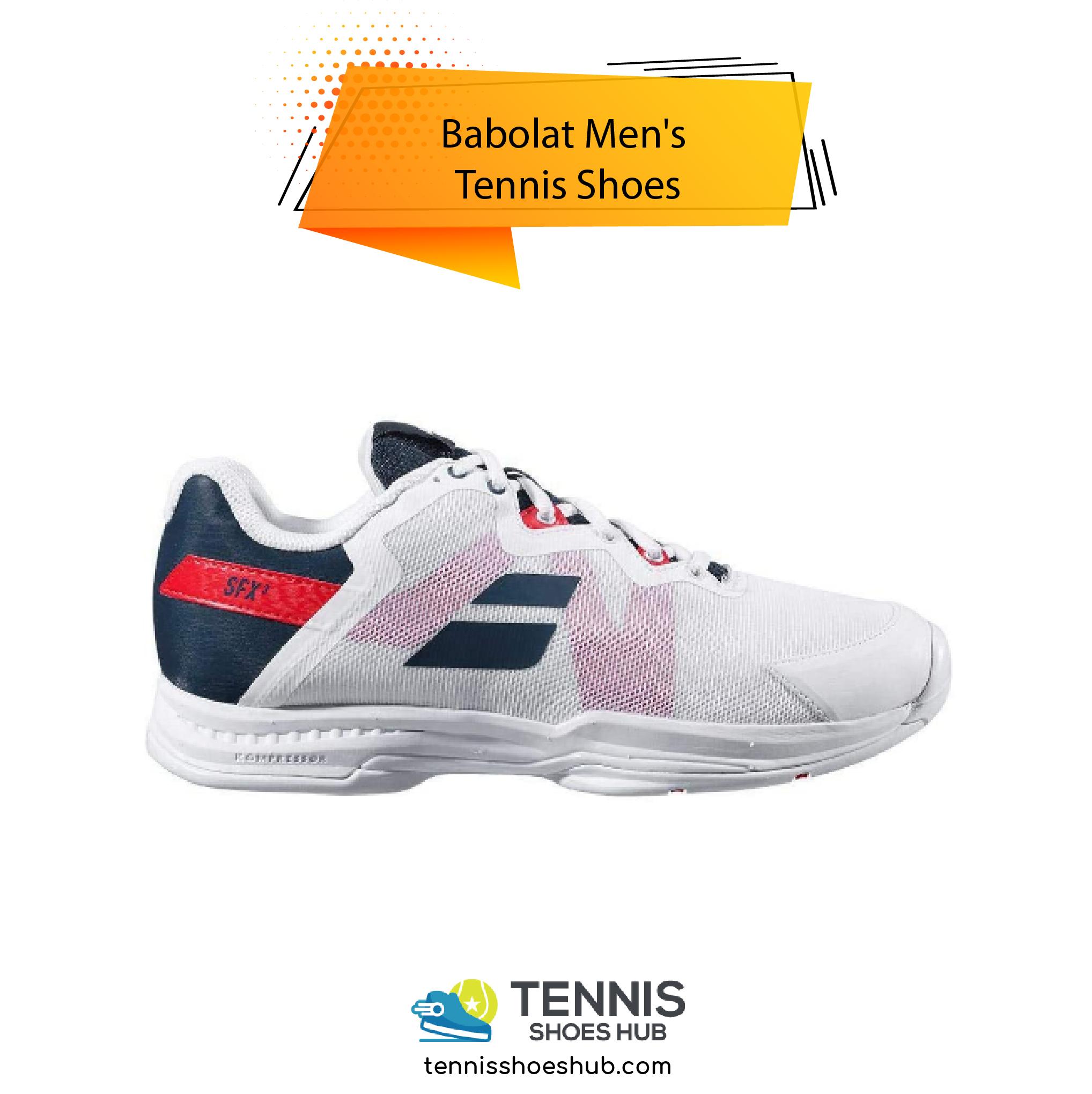 Babolat Mens Tennis Shoes 01