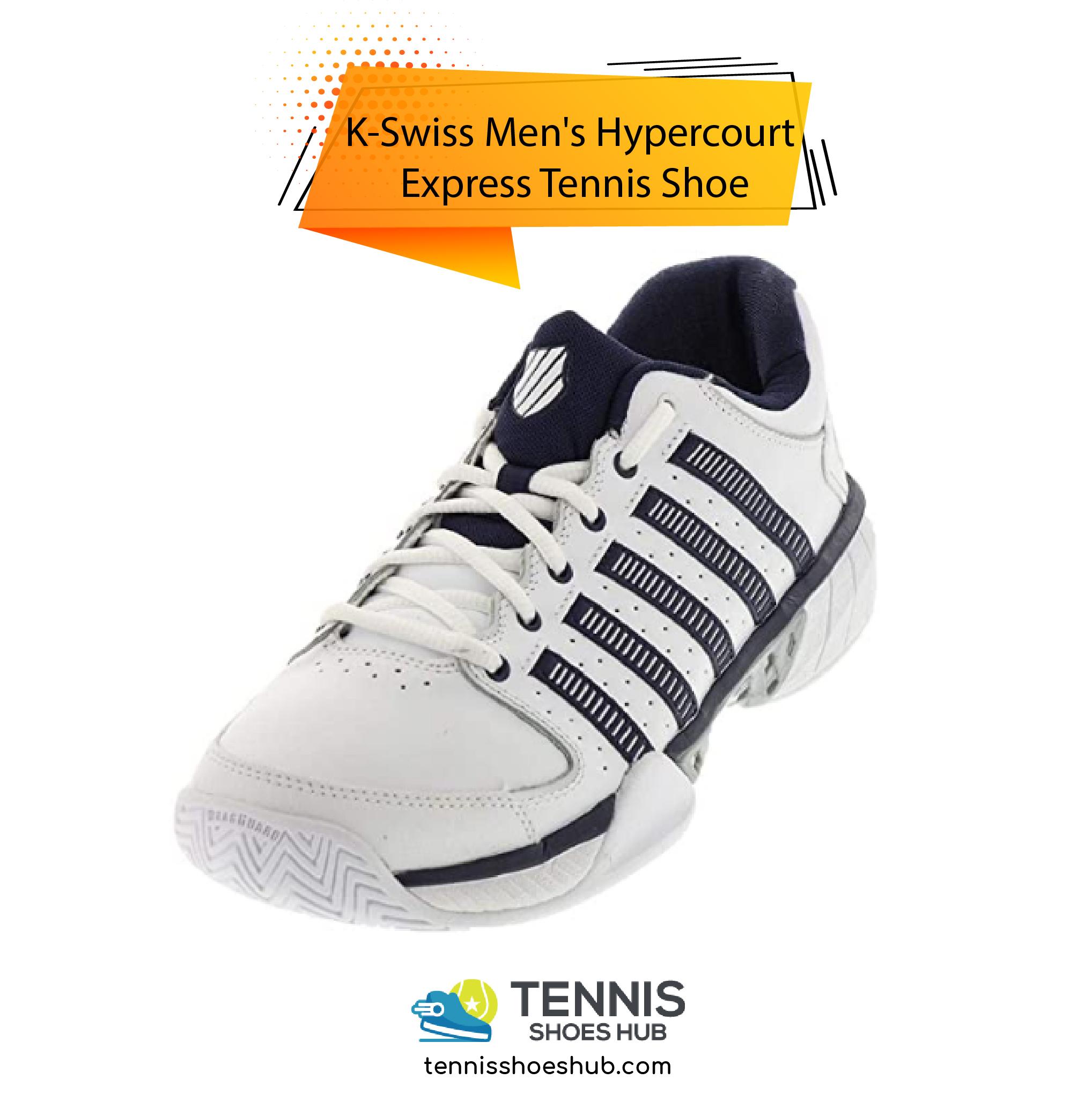 K Swiss Mens Hypercourt Express Tennis Shoe 01