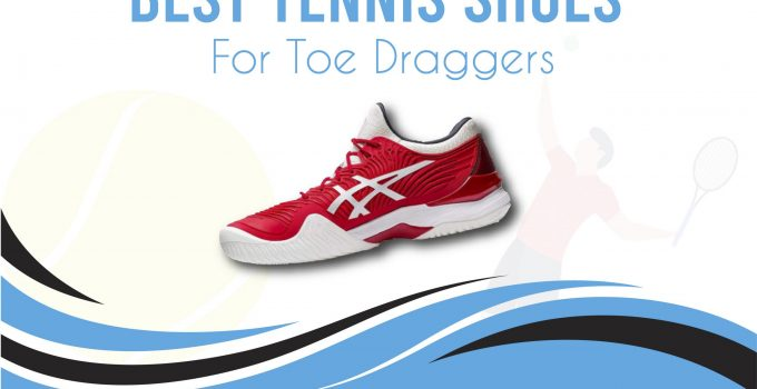 tennis shoes for toe dragger