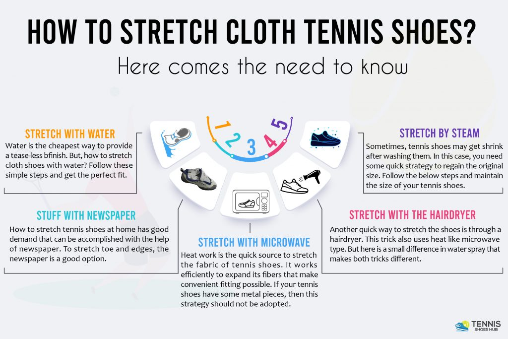 5 Easy Way to Stretch Tennis Shoes
